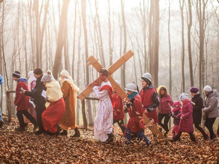 Droga krzyżowa w Czarnocinie II